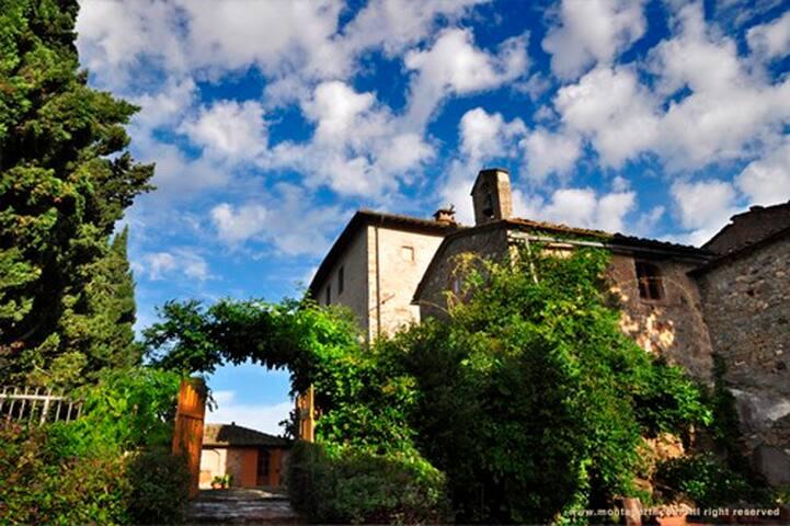 AGRITURISMO VILLA MONTAPERTI CAMERA GELSOMINO - Volterra - Villa