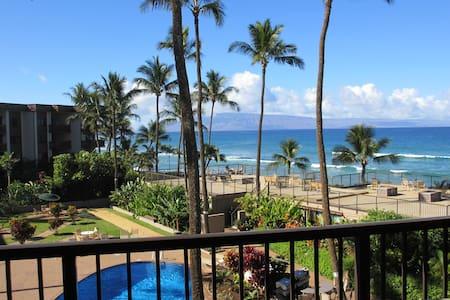 Oceanfront - Spectacular  Ocean Views - Napili-Honokowai