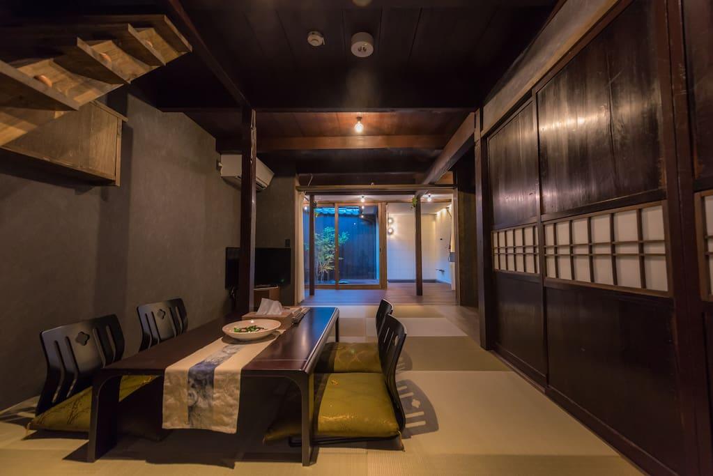 Welcome to stay at Fukuya near Kamo river.  欢迎您入住百年老宅,福家・鸭川东馆。