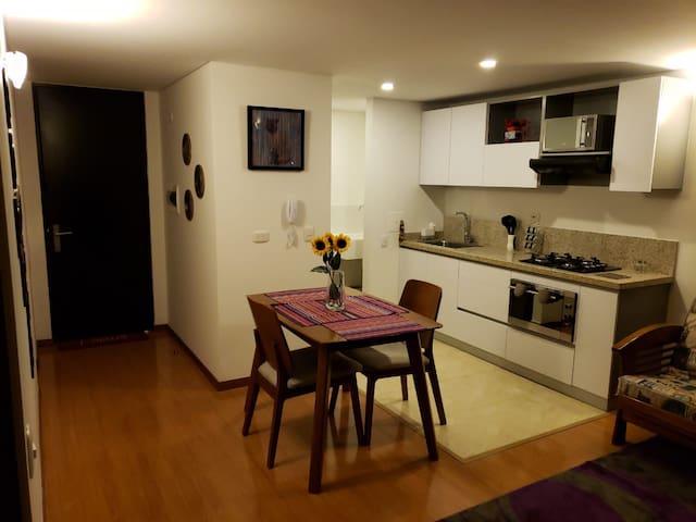 Hermoso apartamento, acogedor con gran vista