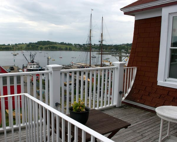 Fawlty Towers on Lunenburg Harbour - Lunenburg