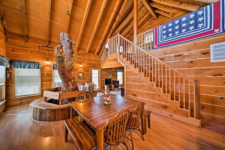Secluded Spragueville Cabin by ATV Trails & River!