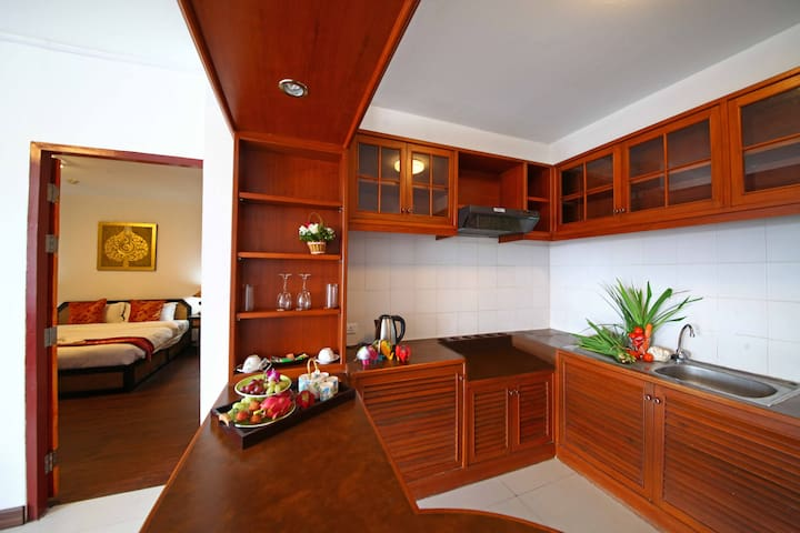 Chiangmai Times(Suite&Kingsize Bed) - Amphoe Mueang Chiang Mai - Apartment