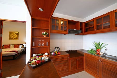 Chiangmai Times(Suite&Kingsize Bed) - Amphoe Mueang Chiang Mai - Lejlighed