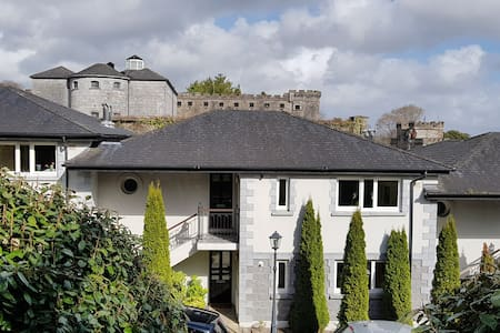 Cork City apartment in historic Sundays Well area.
