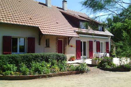chambre dans grande maison - Roézé-sur-Sarthe - Vendégház