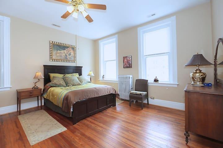 Main Bedroom of The Caterpillar Suite
