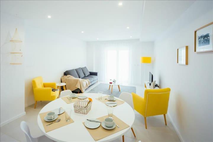 2 bedroom apartment | stunning views of the bay of Sao Martinho do Porto - São Martinho do Porto - Apartment