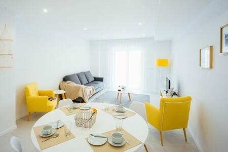 Apartamento T2 | Vista deslumbrante para a baía de Sao Martinho do Porto - São Martinho do Porto - Appartamento