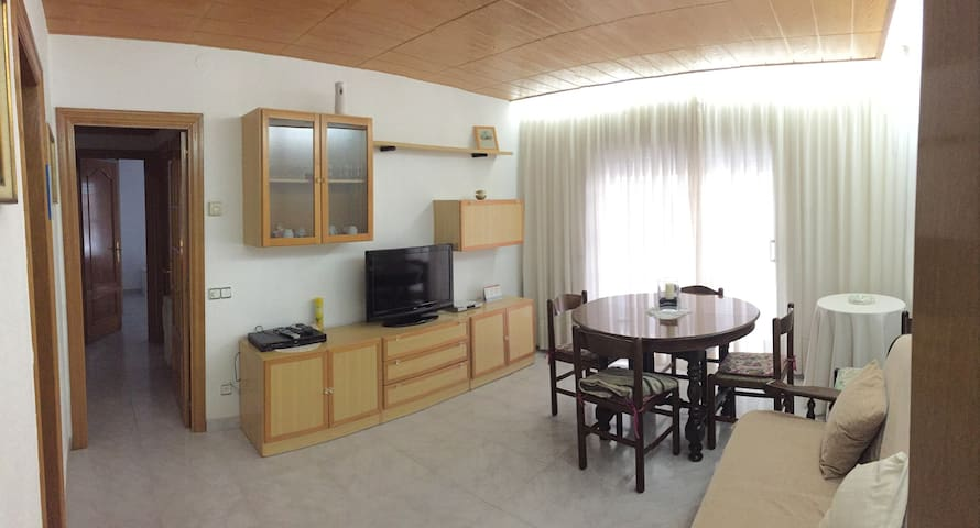 Apartment 10 minutes from beach and town center - Mataró - Appartement