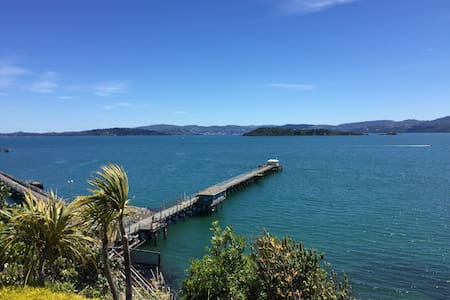 Cool, cosy, spectacular views just above the beach - Lower Hutt - Apartament