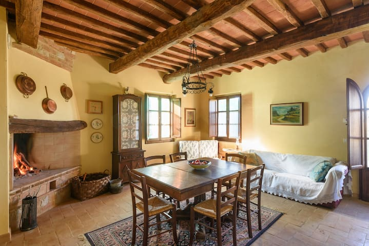 Traditional Tuscany country house with pool - San Giovanni D'asso - Ház