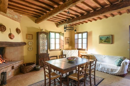 Traditional Tuscany country house with pool - San Giovanni D'asso - 단독주택