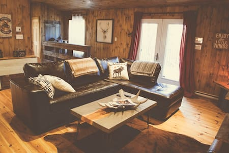 Le Shack - Chalet Mont-Tremblant - La Conception
