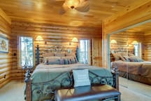 NEW LISTING! Family-friendly, lakefront cabin w/ furnished deck, firepit, & dock