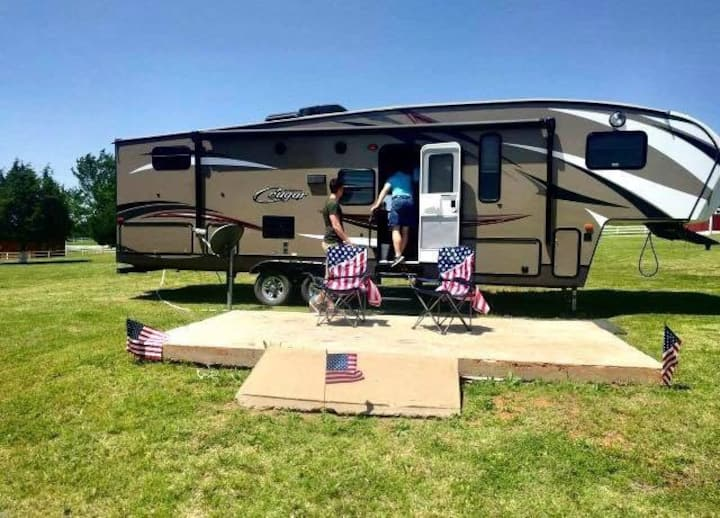 RV Campsite at the Ranch