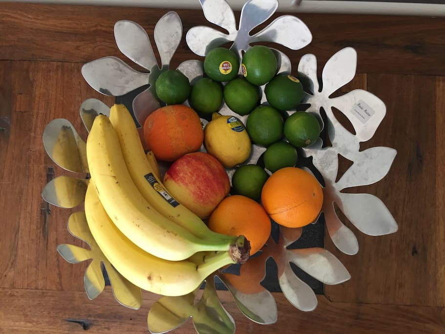 Fresh fruits every day