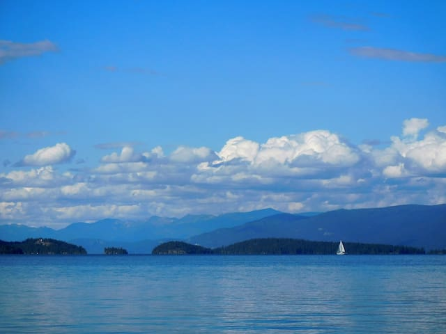 Flathead Lake View Sanctuary -