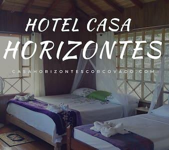 Hotel Casa Horizontes Corcovado - Agujitas de Drake - Bungalou