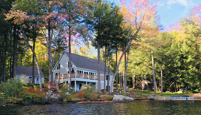 Acworth Amazing  Lake Front/Ski Home