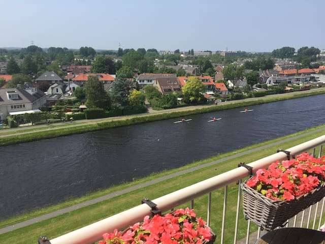 Fantastic view, lovely Leiden, historic town - Leiden - Apartament