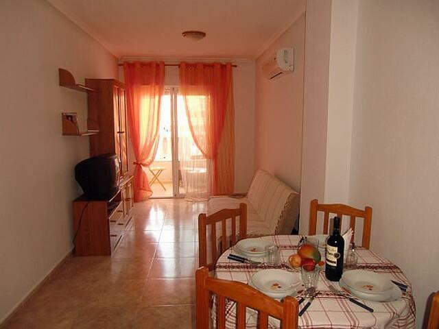 Комфортная квартира в 5 минутах ходьбы от пляжа - Torrevieja - Wohnung