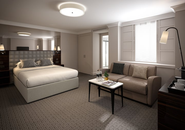 Deluxe Studio Double at Strand Palace, Covent Garden
