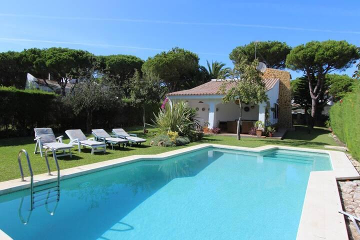 Villa A Mi Manera - Charming villa in Roche with private pool, garden and terraces