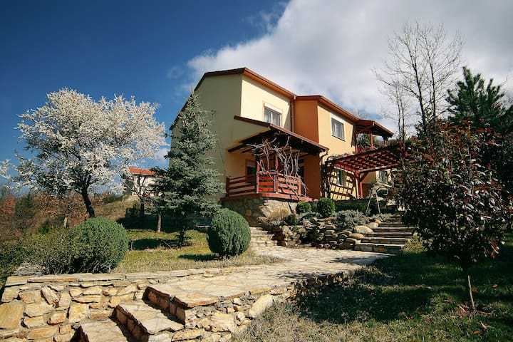 Villa Kirjana, into Lake and Forest (second floor)