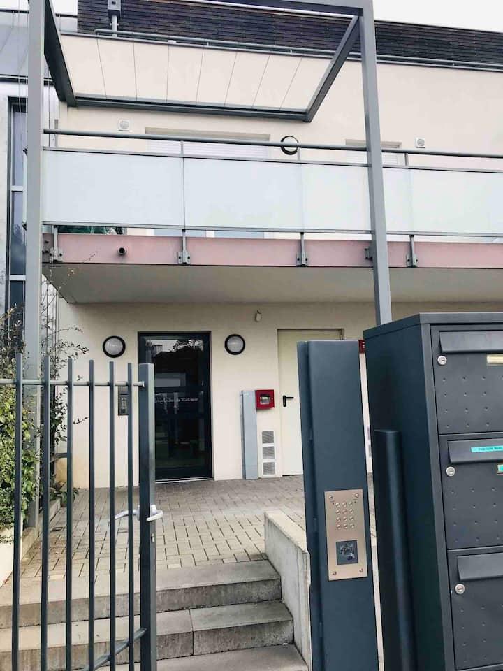 Appartement privé à Strasbourg à côté du parlemen
