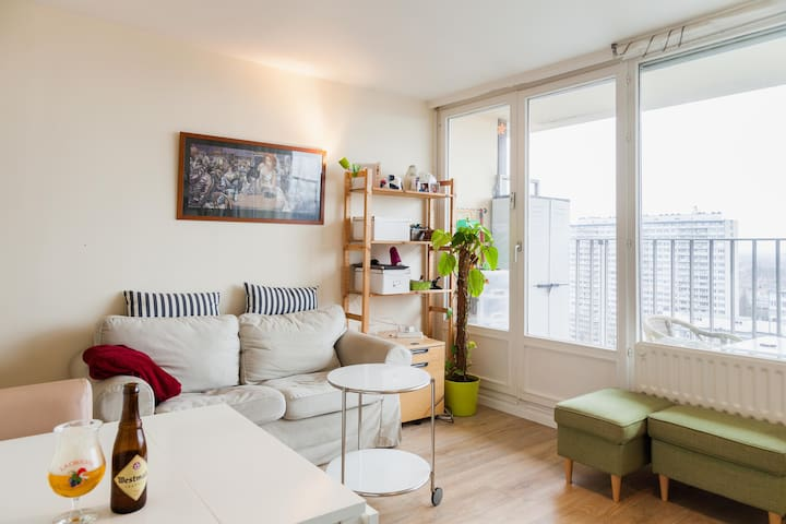 Studio with a nice view at brussels! - Anderlecht - Apartamento