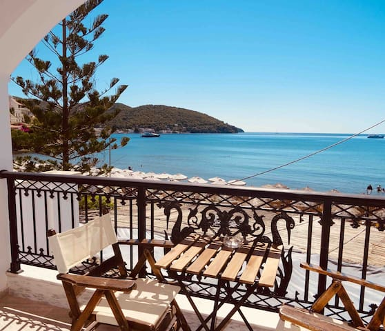 Kanali Double Apartment on the Beach,Poros