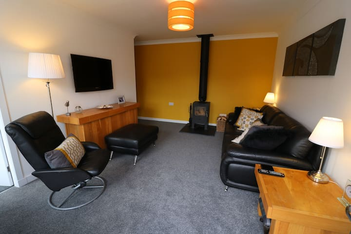 Unique private quiet space, warm and cosy