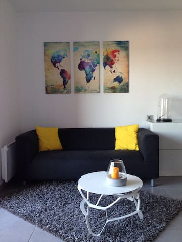 Appartement moderne, 1 chambre - Tours - Lägenhet