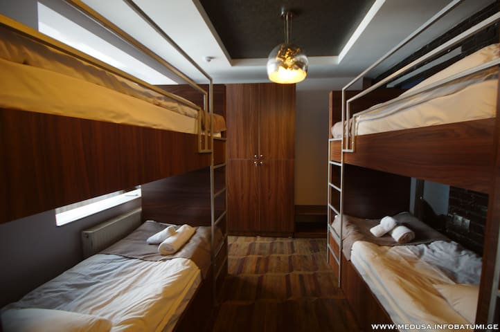 Magnificent Bunk Bed in 6-Bed Mixed Dormitory