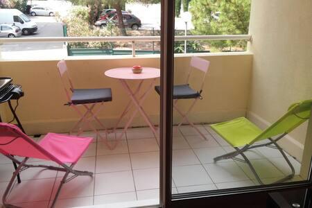 F2 PETIT DEJEUNER COMPRIS MONTPELLIER CENTRE - Montpellier - Apartamento