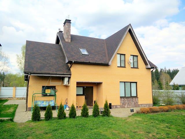 Загородный рай - дом - Narskiye Prudy - Hus
