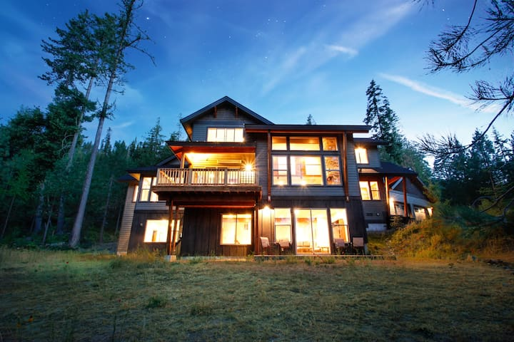 Stunning Mountain Lodge, amazing views! - Cle Elum - Hus