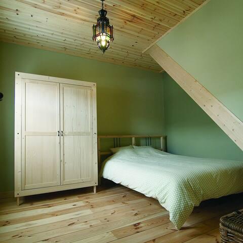 Vakantielogies UIT-slapen (kleine 2persoonskamer)