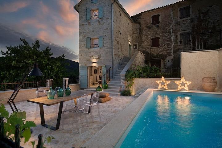 Casa Gradinje mit Pool für 5 Personen