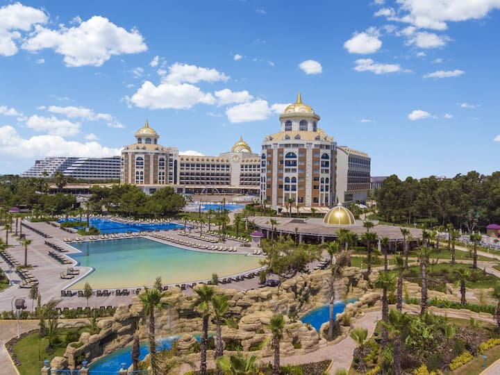 Delphin BE Grand Resort - Be Trendy Kara Manzarali Oda