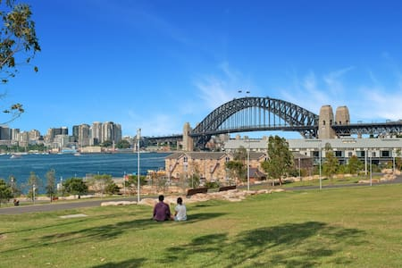 Waterview Heritage House at The Rocks - Millers Point - 独立屋