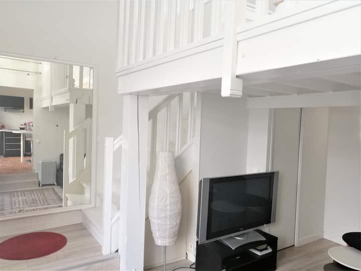 appartement privatif dans maison de charme