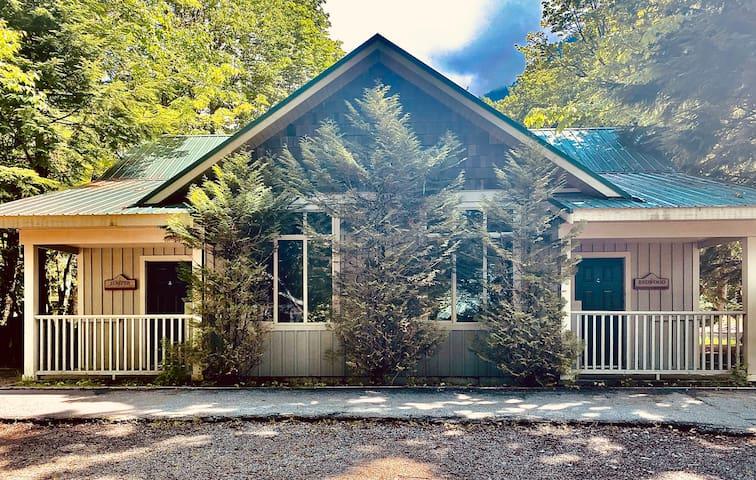 Redwood Cottage Overlooking Cultus Lake