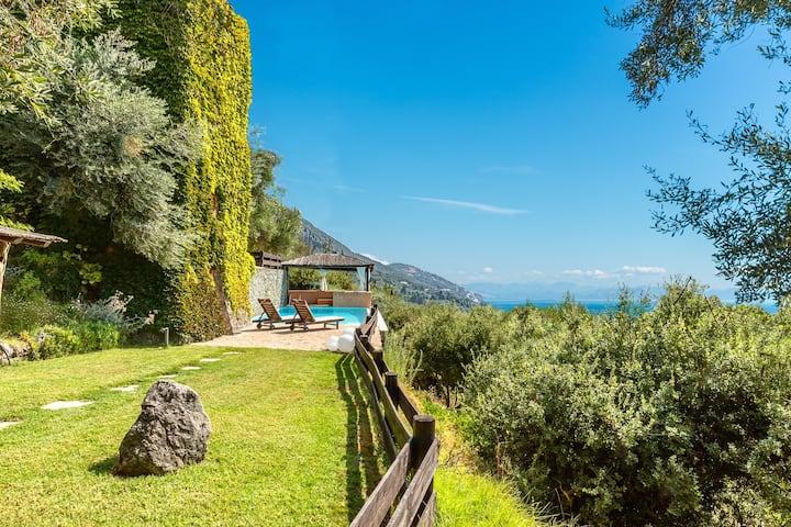 Majestic Villa in Corfu - Stunning Sea Views