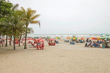 Tupi·Arejado & Tranquilo 250m Praia ·Garagem·Wi-fi