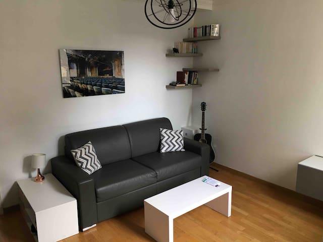 Petit appartement dans quartier résidentiel calme