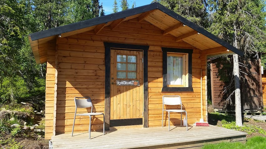 "Cabin ""Hjortronet"" at our sleddog kennel"