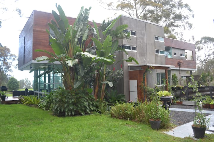Designer, eco-friendly house on 12 hectares, - Whoota