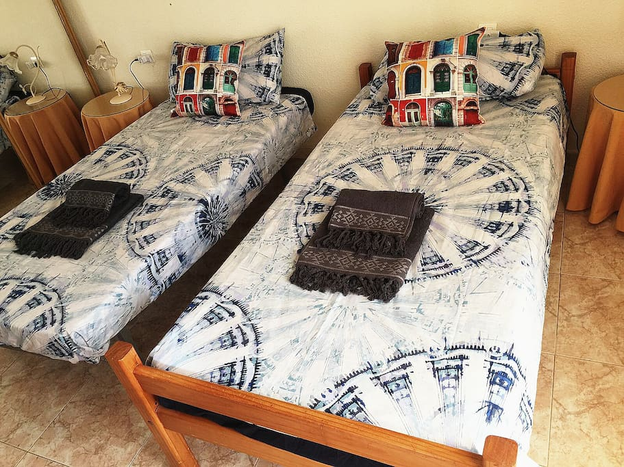 habitación 2-3 camas individuales